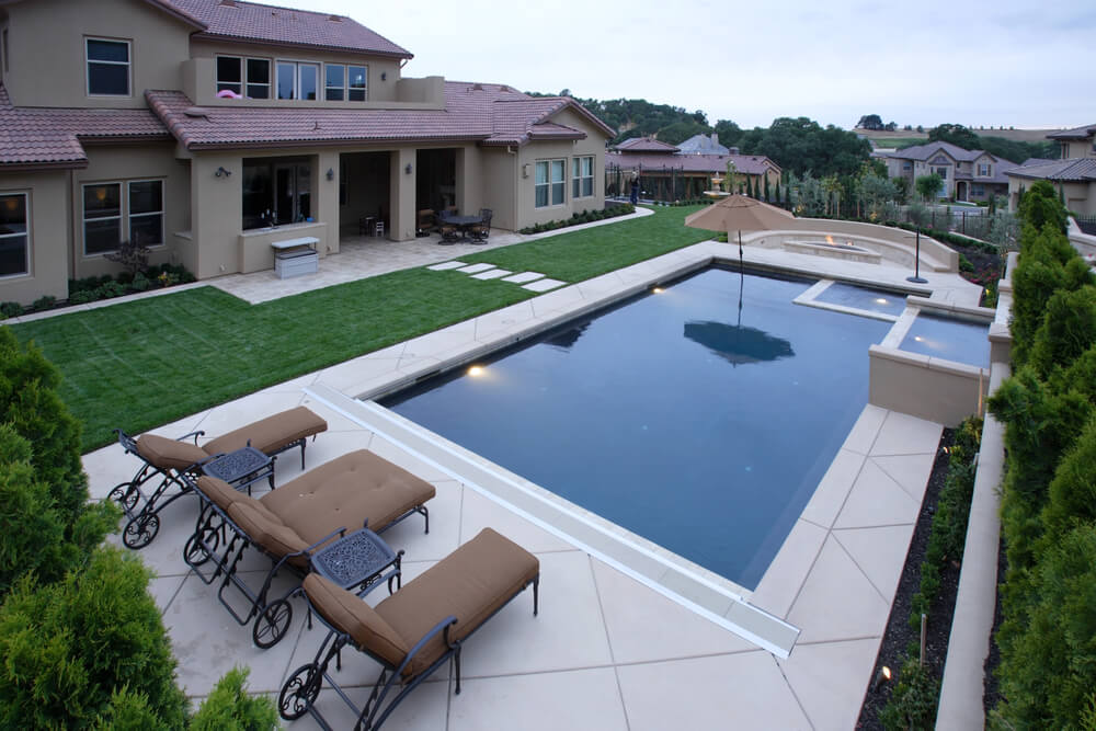 37 pool ideas for your backyard pictures for Pool design trends 2018