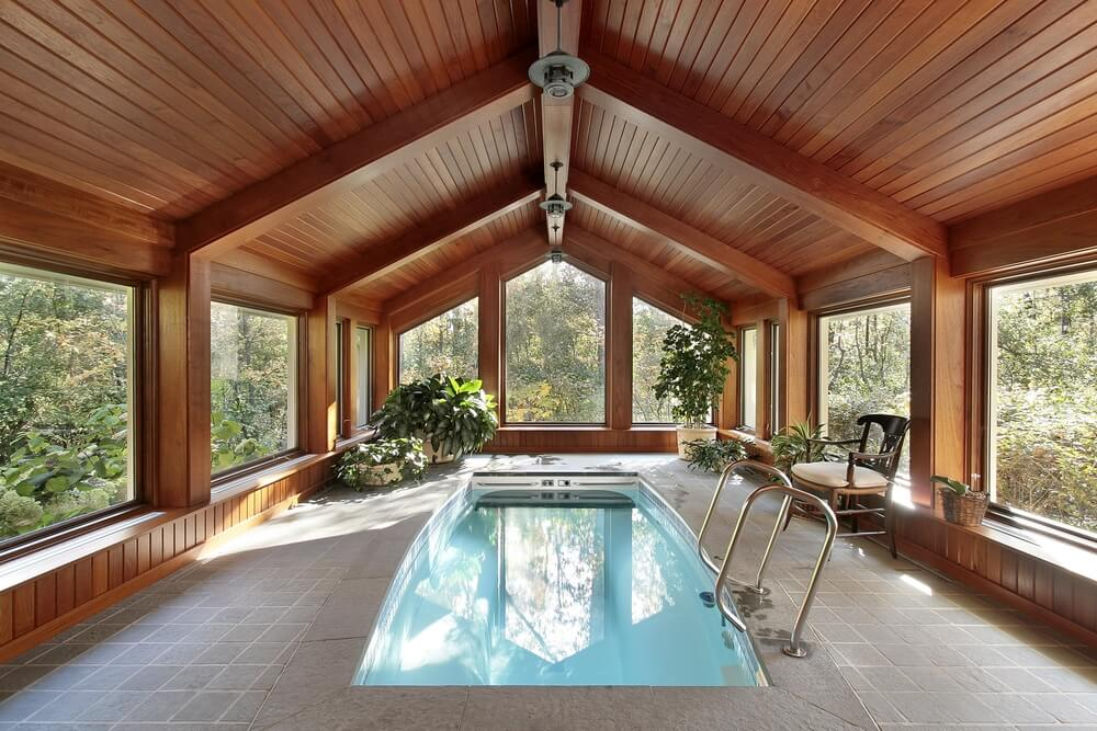 Indoor Pool ideas for a pool room