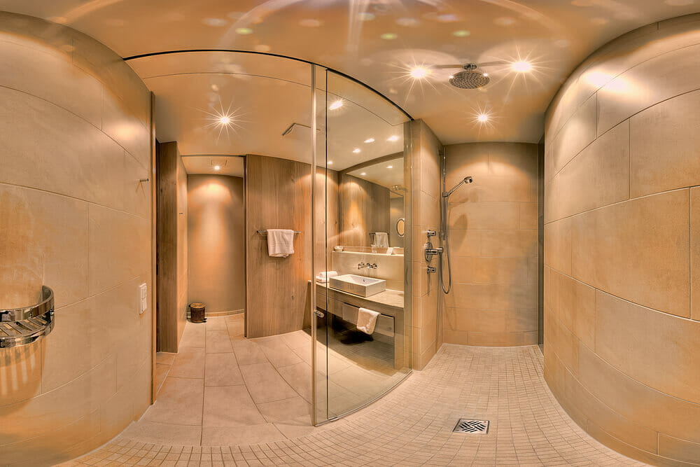 46 luxury custom bathrooms designs ideas for Bathroom designs open showers