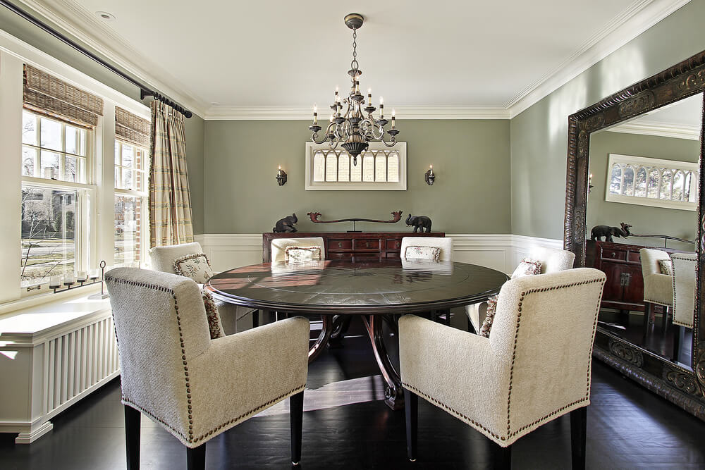 Casual Dining Room Ideas Round Table Shutterstock 62934760