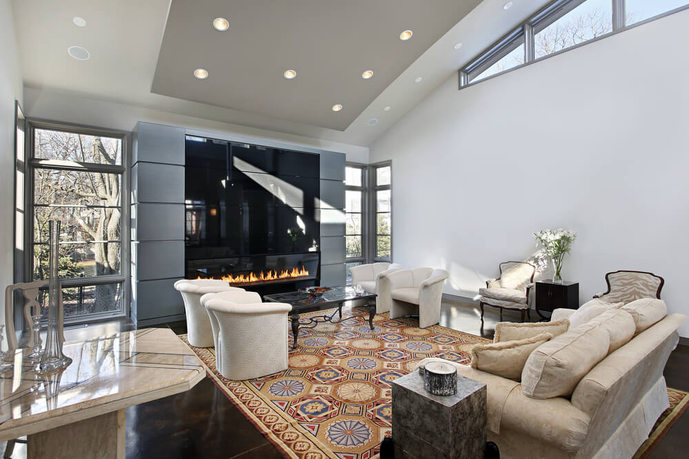 29 Modern Fireplaces You Will Love - Love Home Designs