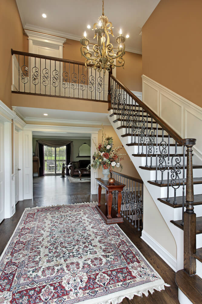 Entrance Foyer Circulation And Balcony In A House : Entryway ideas for your home love designs