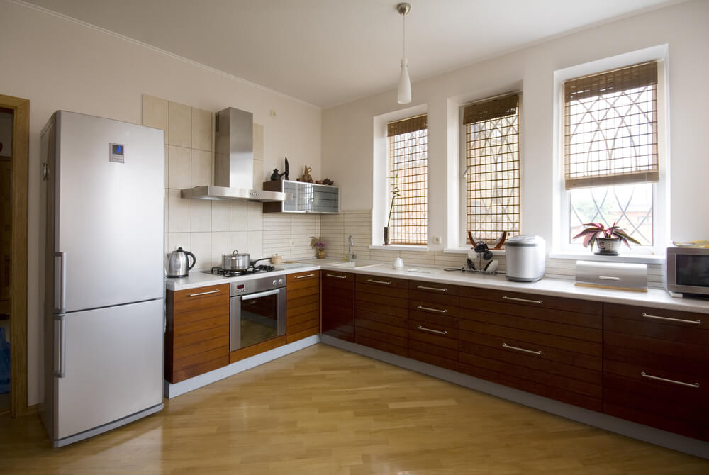 2. L Shaped Kitchen