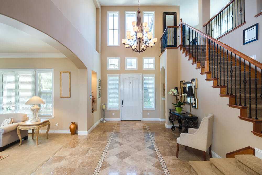 45 foyer ideas for custom homes love home designs for Foyer area interior
