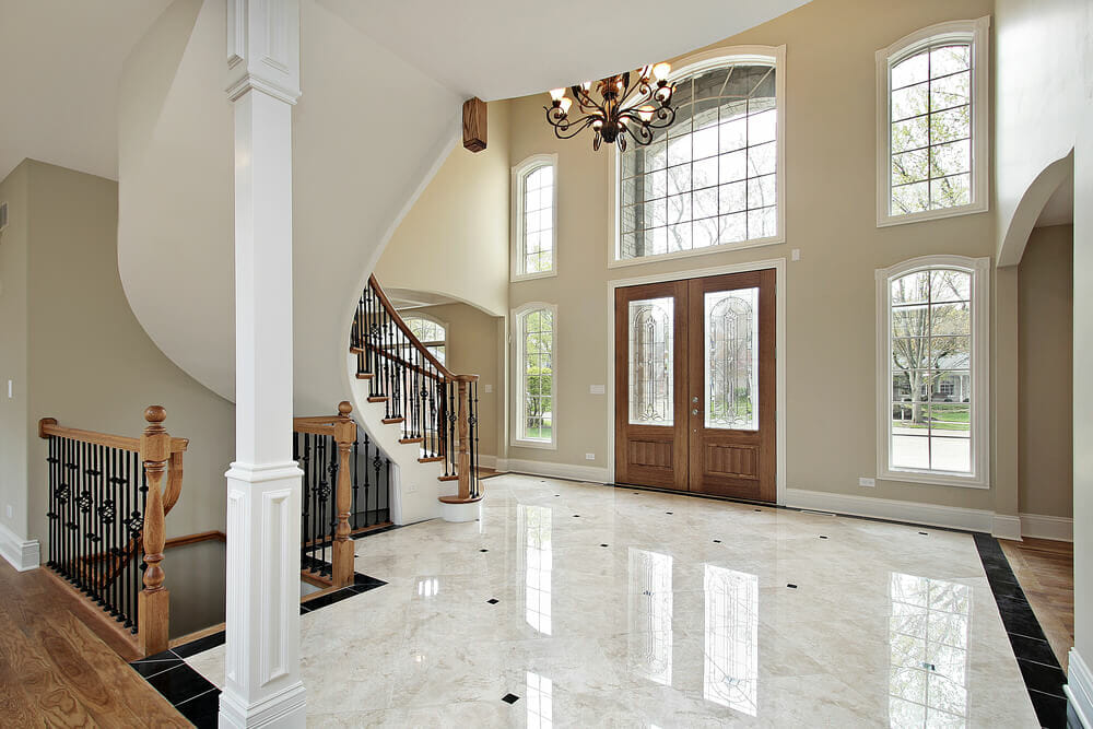 House Plans With A Foyer : Foyer ideas for custom homes love home designs