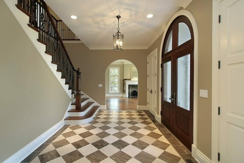 Elegant Foyer Tiles : Foyer ideas for custom homes love home designs