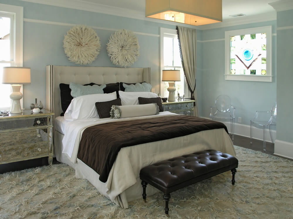Bedroom Designs Blue And Brown 65 master bedroom designs from luxury rooms