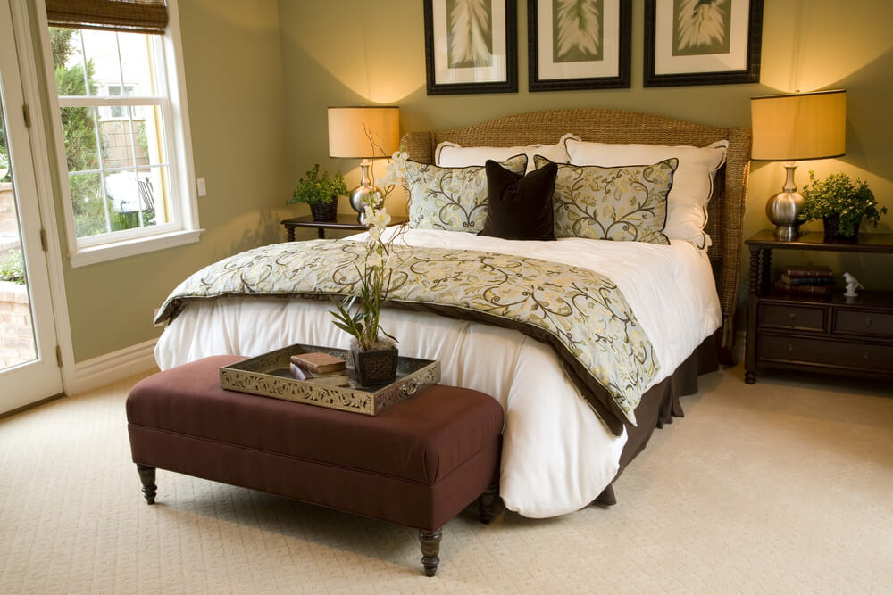 65 master bedroom designs from luxury rooms Brown and green master bedroom ideas