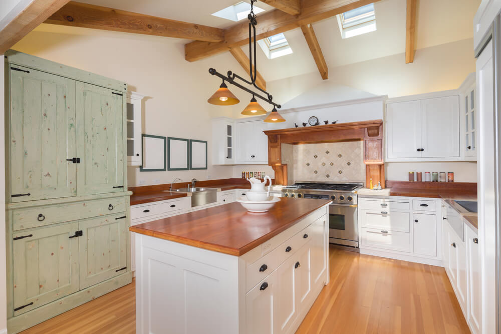 Country Interior Design Kitchens
