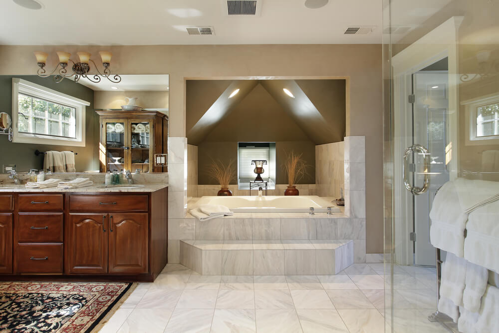 117 custom bathroom designs love home designs for Custom bathrooms