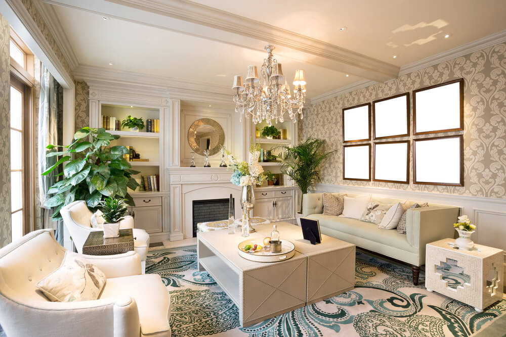 luxury living room ideas for your home - Interior Decorated Rooms