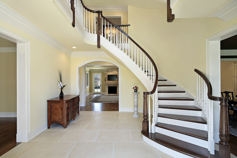 Foyer Staircase Decorating : Foyer decorating ideas love home designs