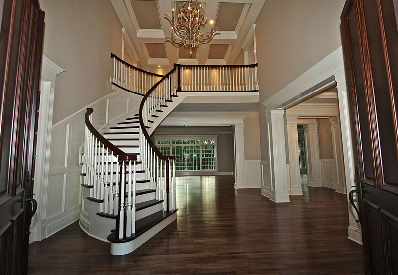 Foyer decorating ideas love home designs for Foyer staircase decorating ideas