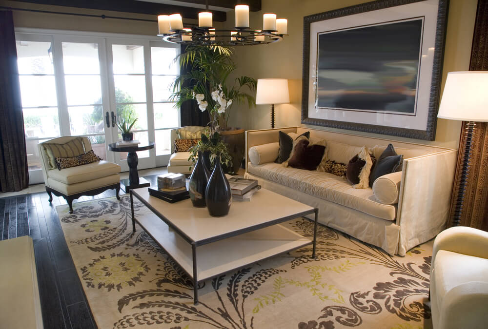 20 Stunning Living Room Rugs - Love Home Designs