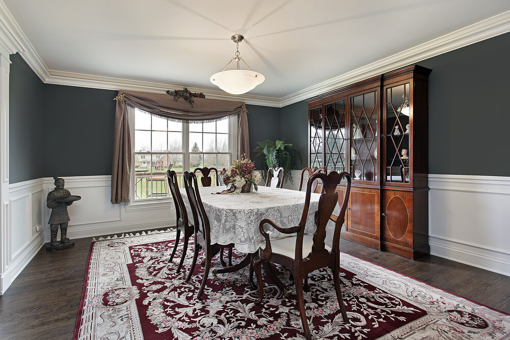 Dining Room Two Tone Paint Ideas 37 luxury dining room ideas - love home designs