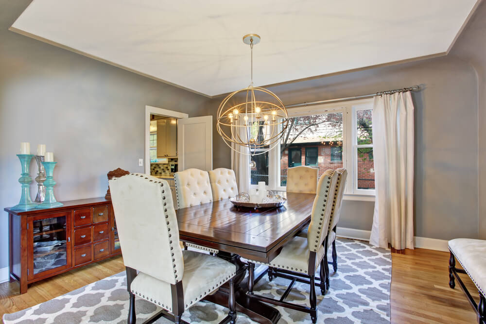 37 luxury dining room ideas love home designs for Luxury dining room