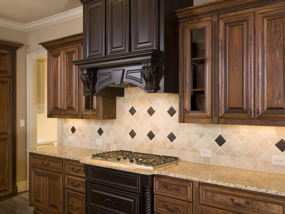 kitchen backsplash ideas with walnut cabinets wow blog. Black Bedroom Furniture Sets. Home Design Ideas