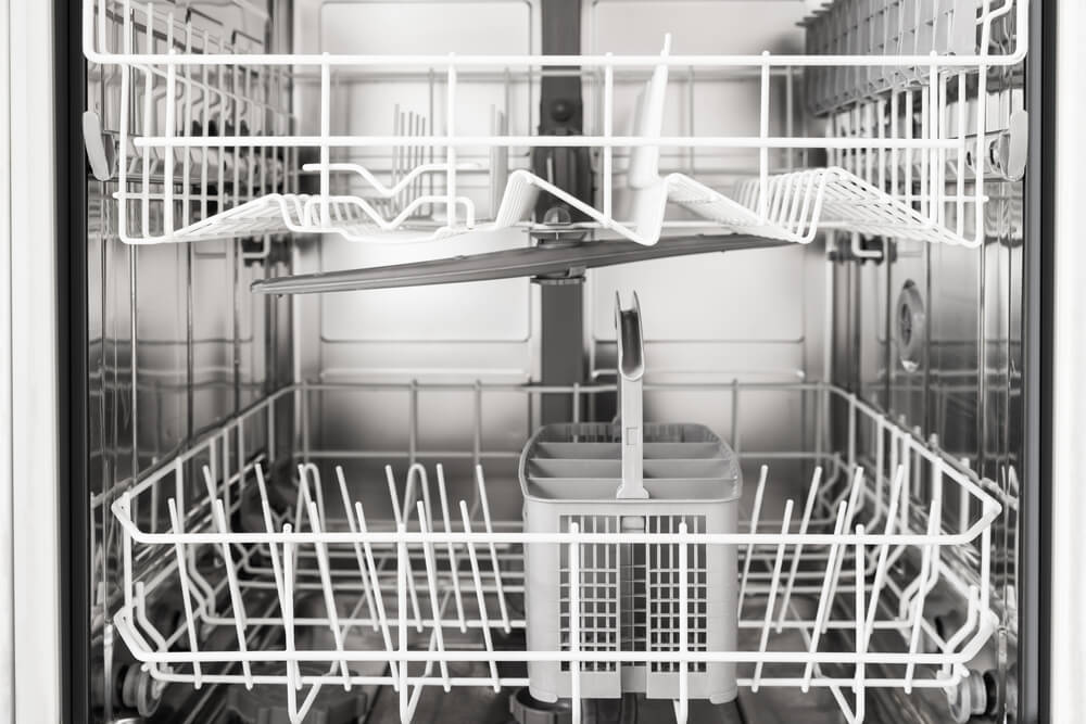 Decide how much room you need for your dishes by bringing a few glasses and plates with you when you shop for the right dishwasher unit.
