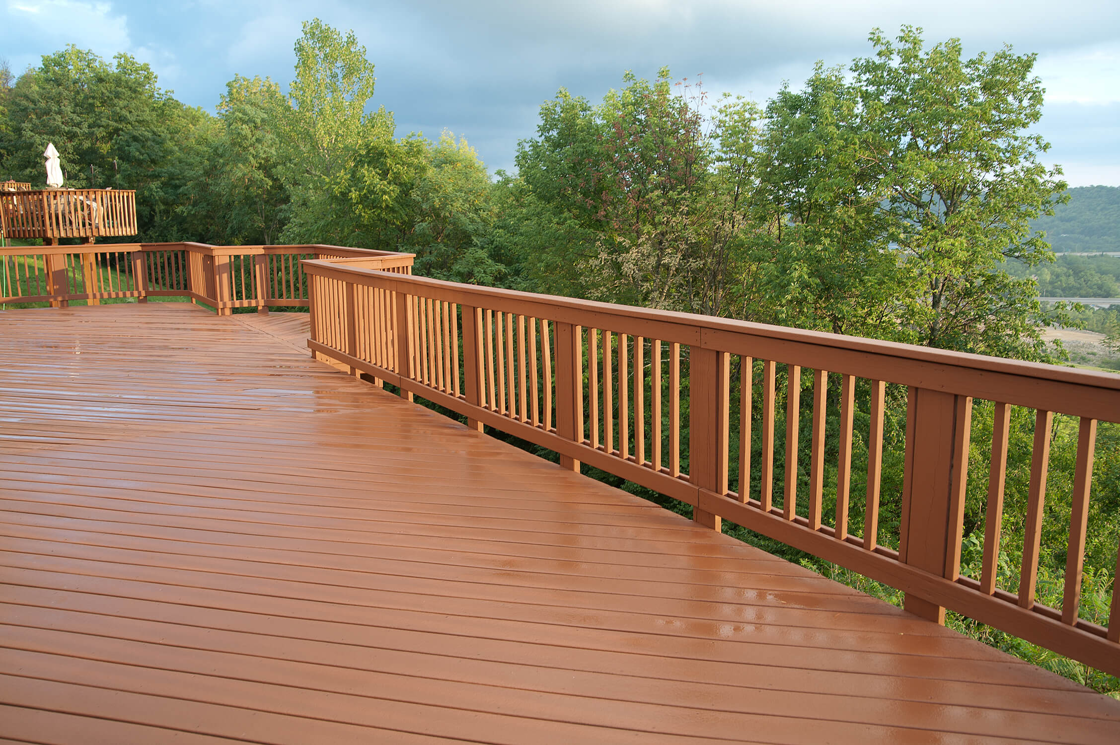 Wood deck balusters the image kid has it for Best timber for decking