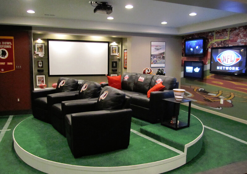 Small Garage Into Man Cave : Ultimate man cave ideas furniture signs decor