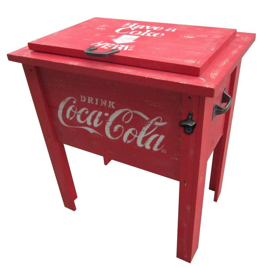 coke ice chest