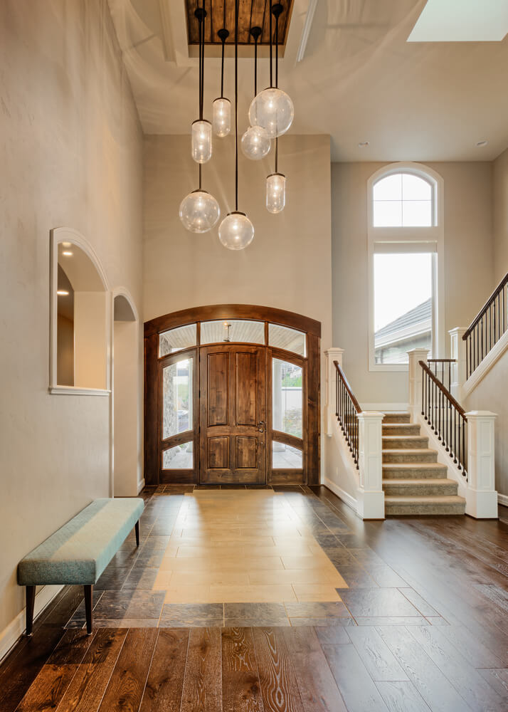 How Big Should Foyer Chandelier Be : Patio foyer and entryway decor ideas love home designs