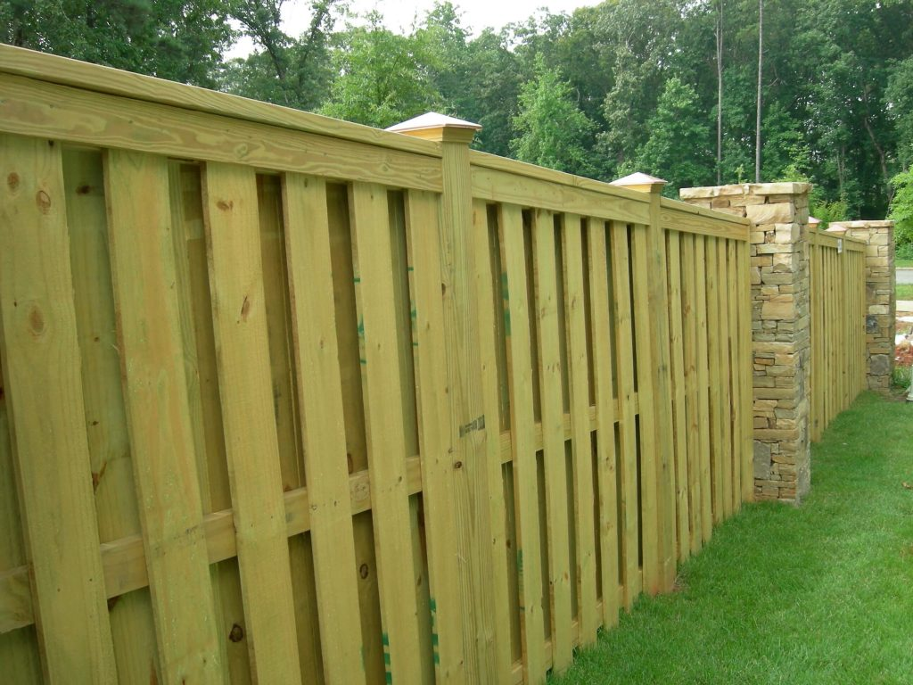 Shadow Box Fence Designs Create A Unique Look By Using Shadows To Create  More Depth When