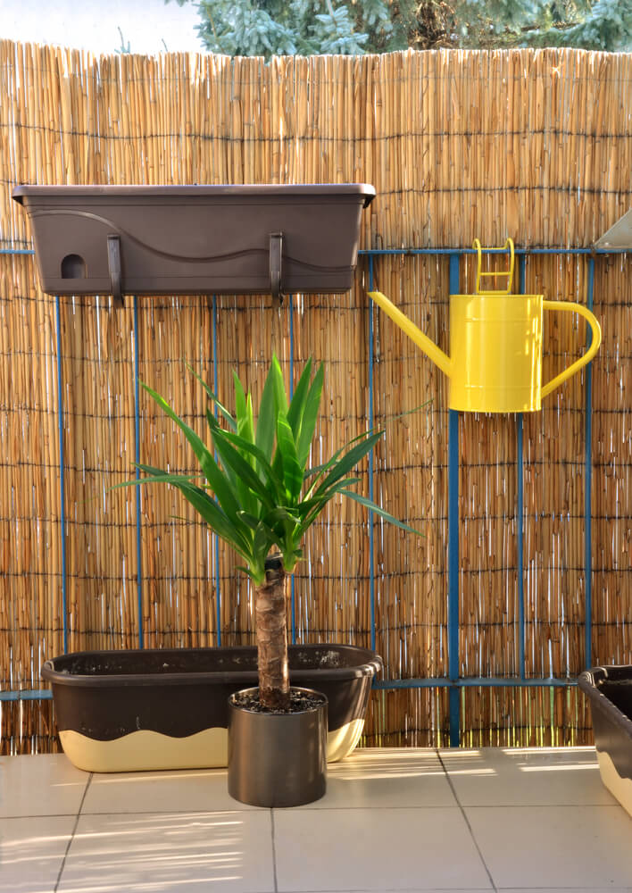 Bamboo Fence Roll Is A Quick And Easy Options For Anyone To Help Create  Privacy.
