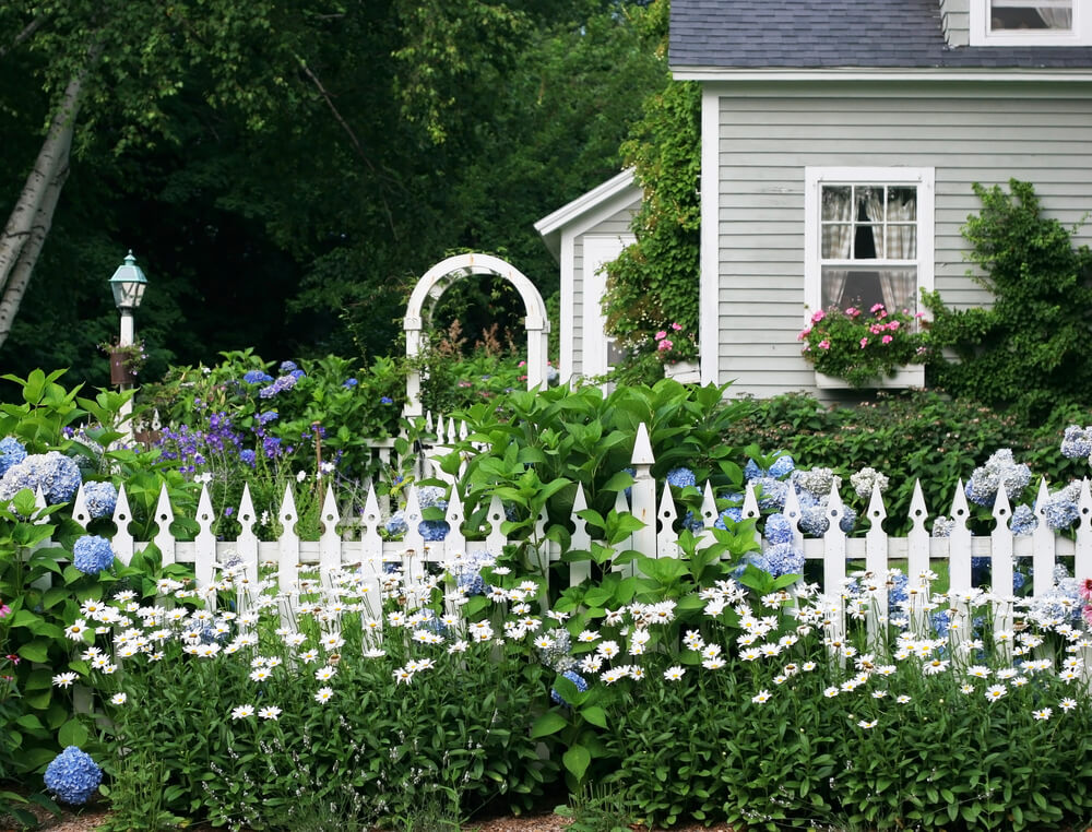 Classic English Garden Fencing Makes A Beautiful Addition To Any Front Or Side Yard
