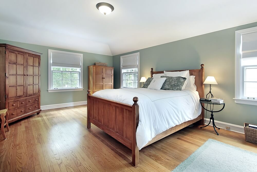 Nice Shutterstock_43891186. A Cozy Room With Wood Floors ...