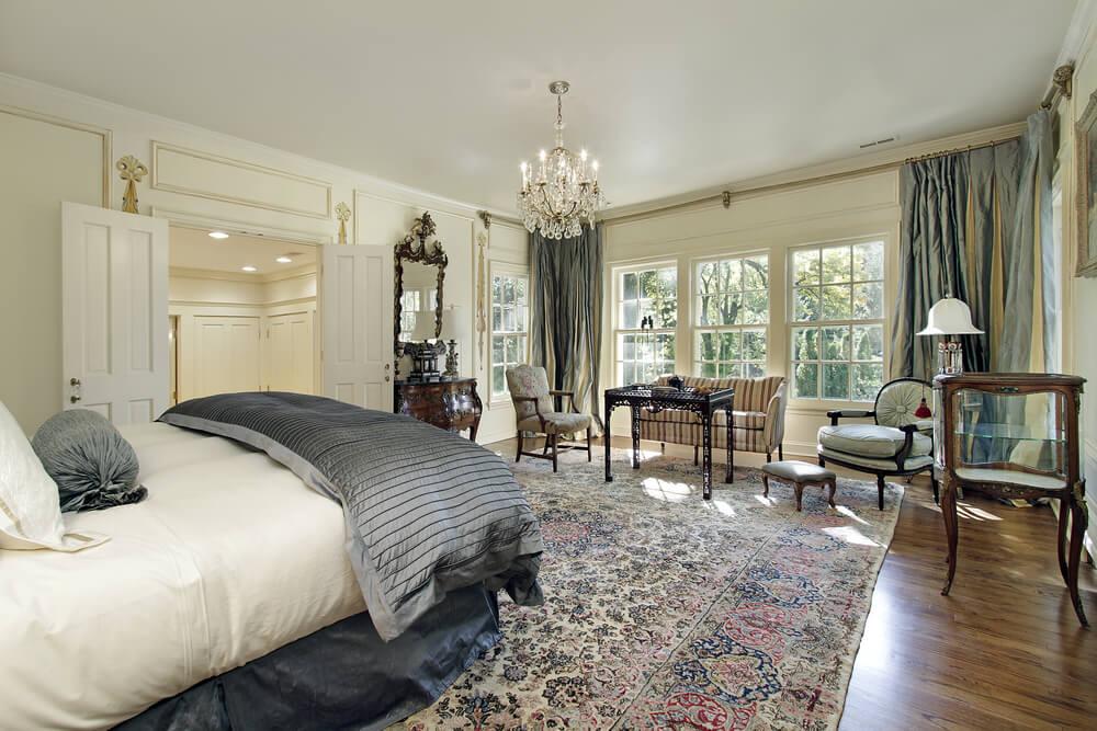 ... Bedroom With Wood Floors. Shutterstock_48175255. Shutterstock_48175255
