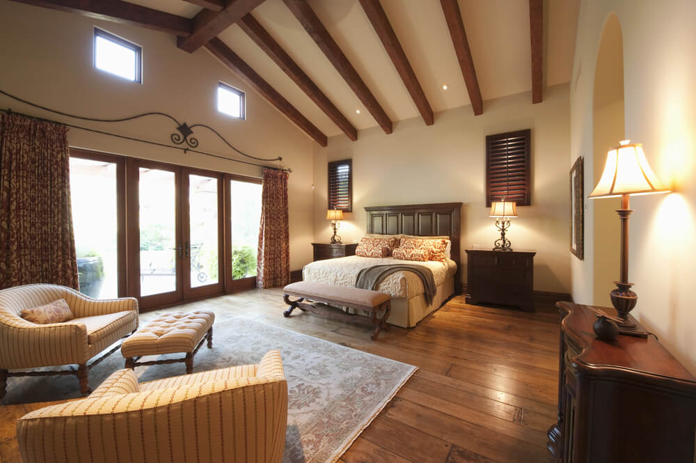 32 bedroom flooring ideas wood floors for Master bedroom images