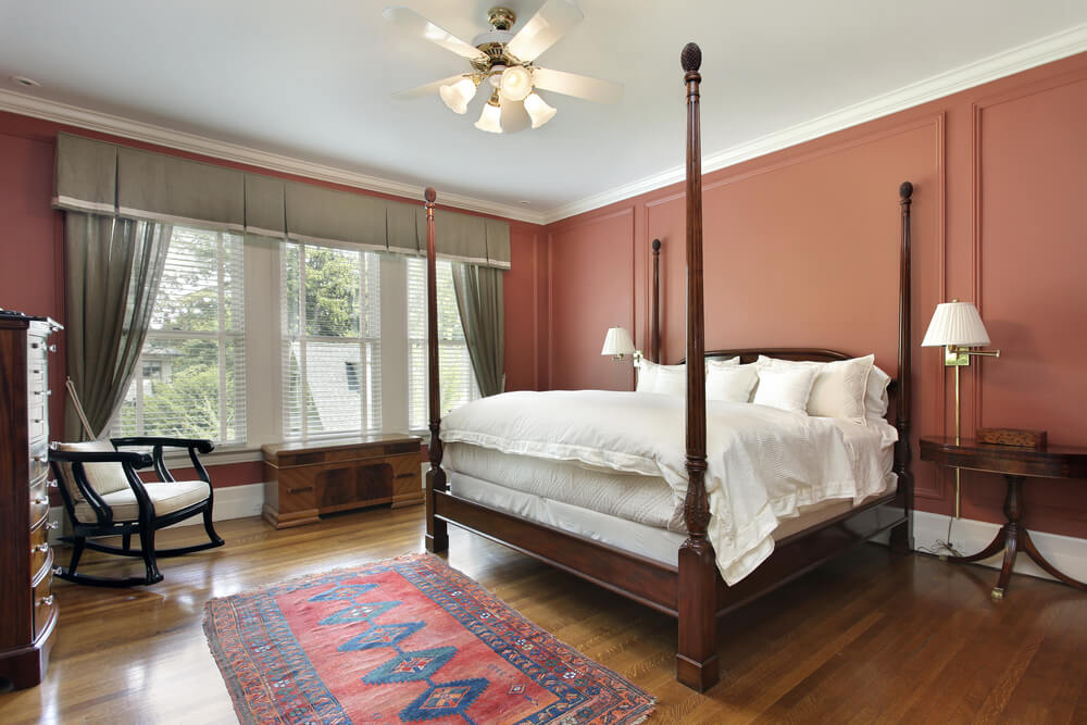 Shutterstock_352473833. Classic And Traditional Hardwood Bedroom Flooring  ...