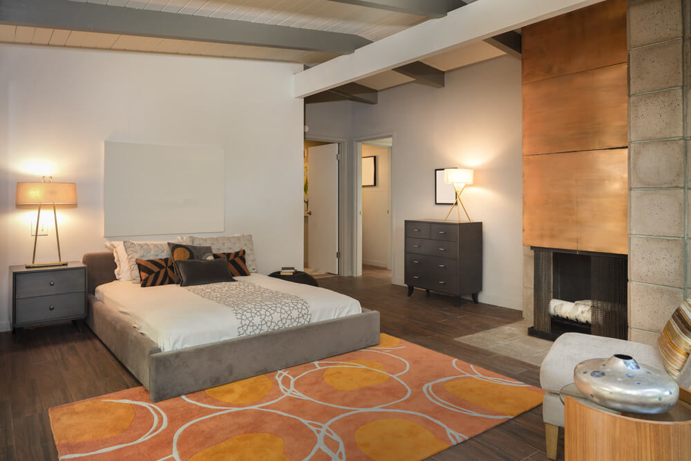 Master bedrooms with fireplaces