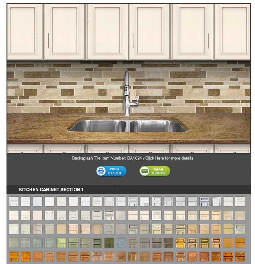 2 Kitchen Backsplash Cabinet And Countertop Virtual Room Designer Free House Design Software