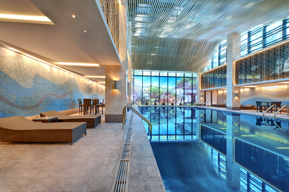 16 super indoor swimming pools to enjoy all year for Name something you might find in a swimming pool