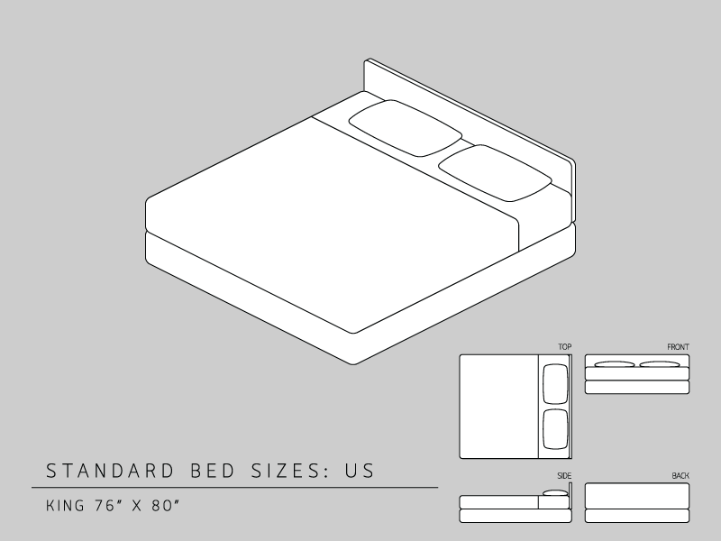 California King Bed Size Metric