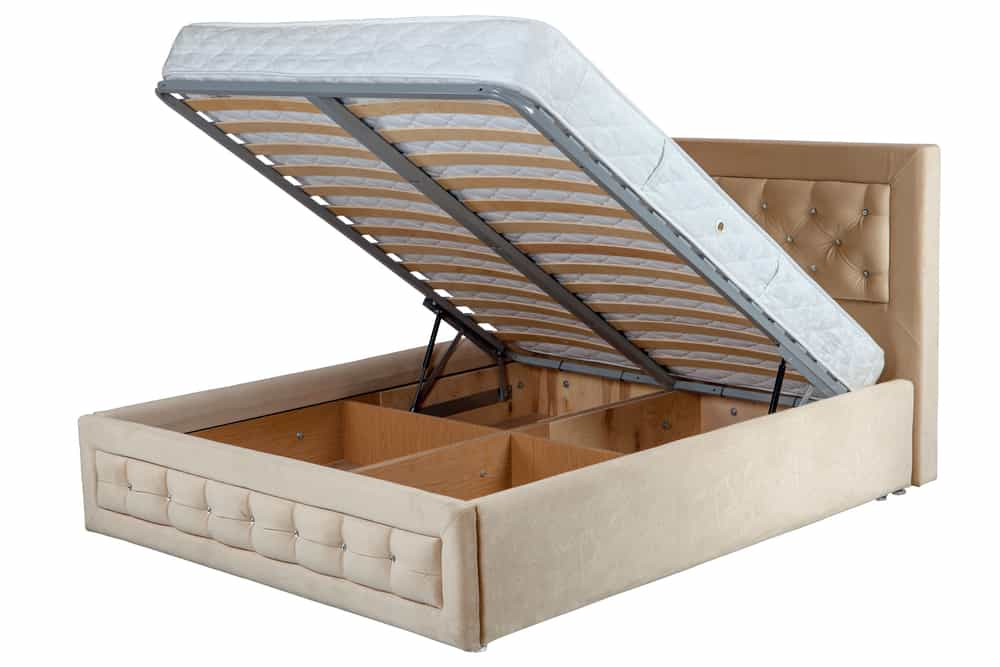 A storage bed is a great functional options.
