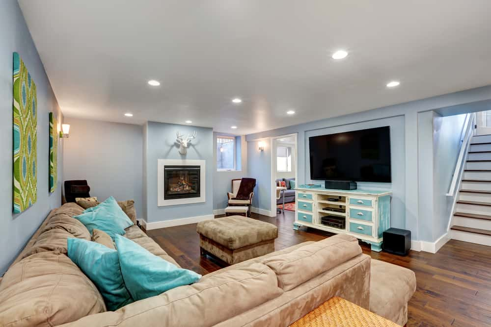 13 basement paint colors that really can t go wrong rh lovehomedesigns com paint colors for basement apartments paint colors for basement ceiling