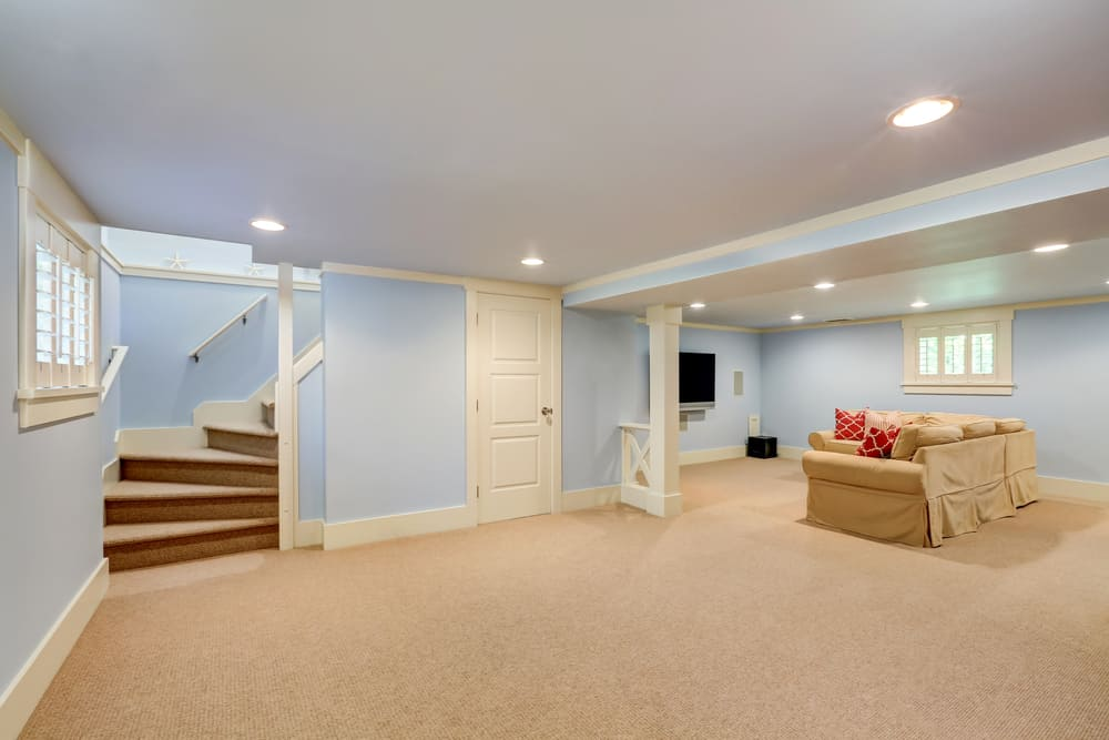 13 best flooring for basement rooms to get a great look for Best carpet for basement family room