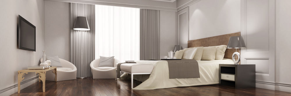 deciding on a double bed vs full bed for your guest room. Black Bedroom Furniture Sets. Home Design Ideas