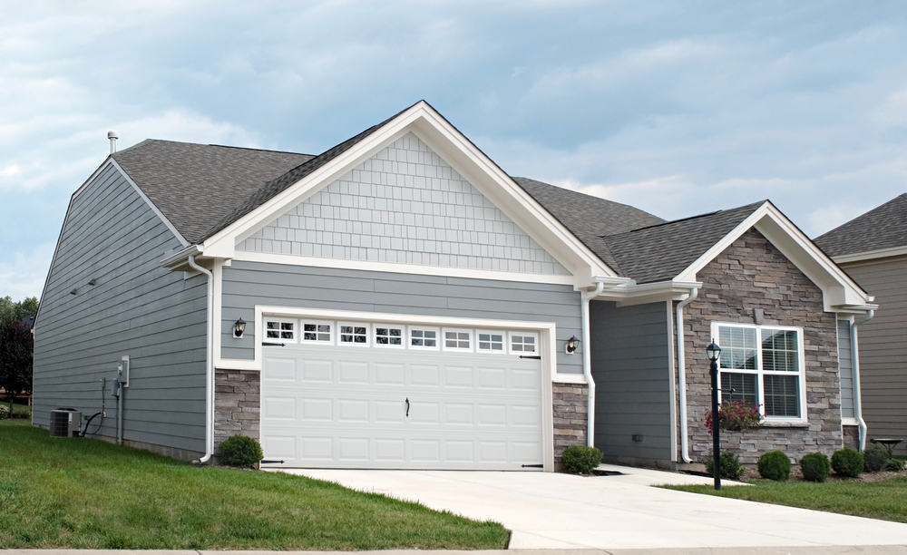 Garage door sizes flowy standard double garage door size for Double car garage door size