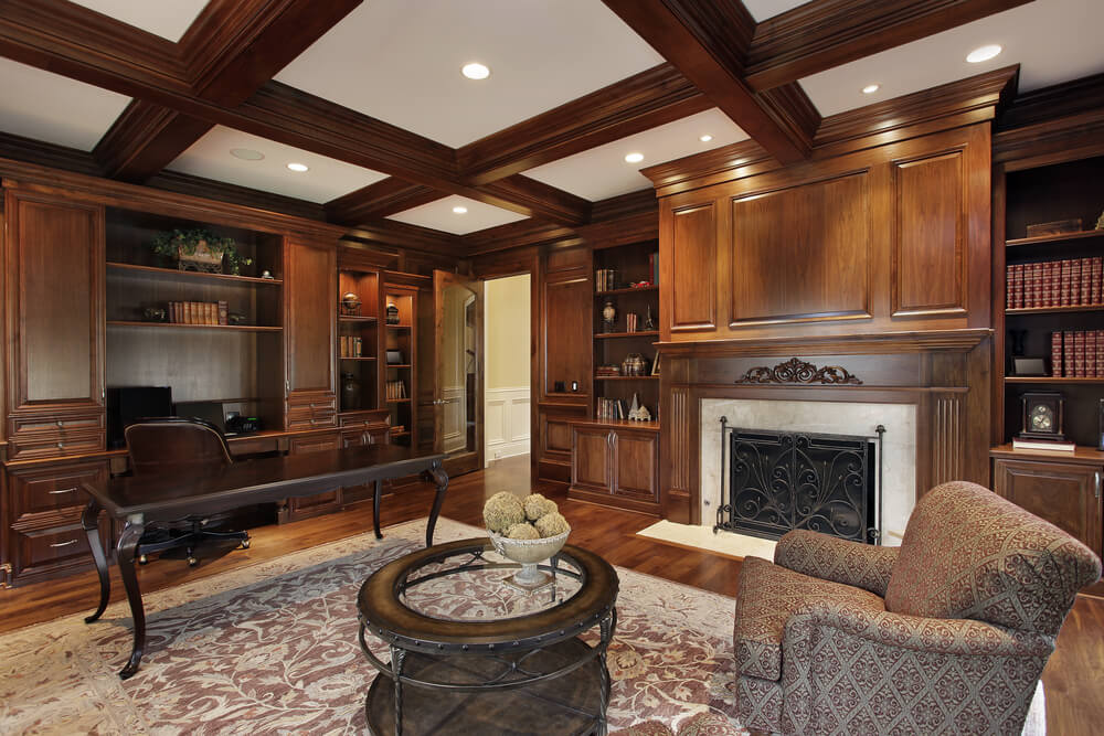 42 Living Rooms With Exposed Ceiling Beams Love Home Designs