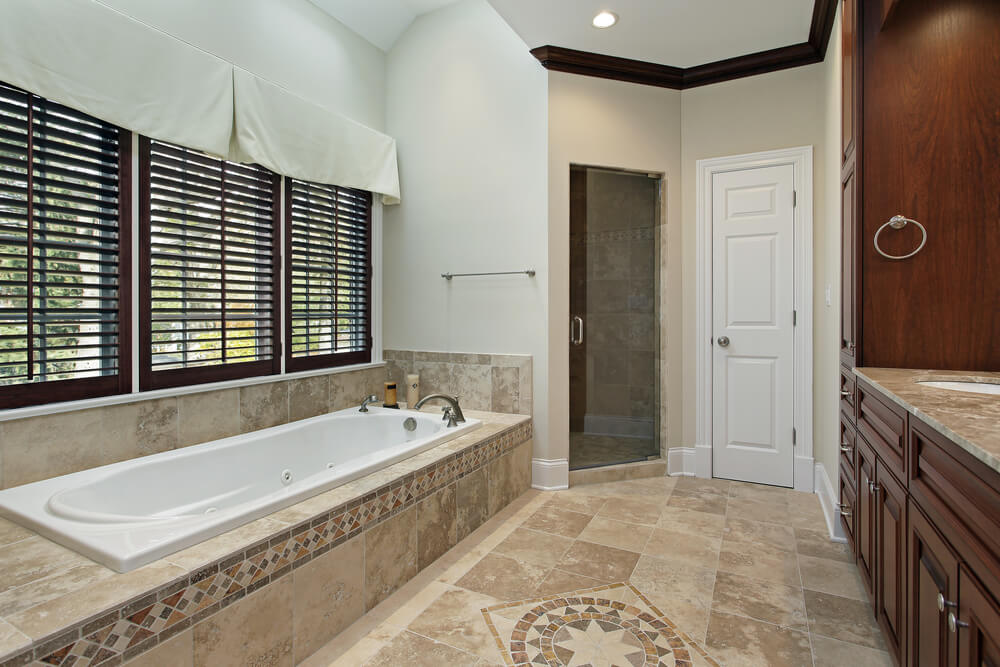 bathroom accent tile 117 custom bathroom designs home designs 10191