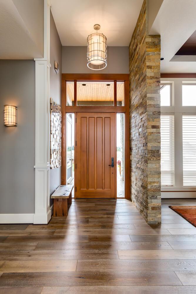 Lighting Basement Washroom Stairs: 45 Foyer Ideas For Custom Homes
