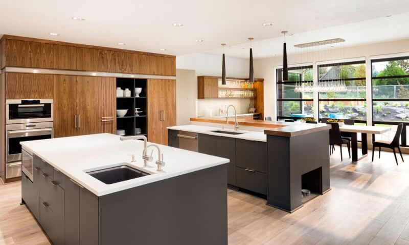 Purpose Of Two Sinks In Kitchen