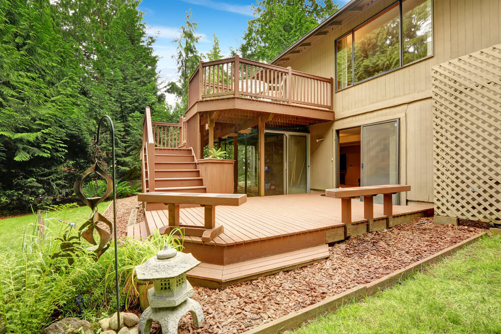 Ideas For Building A Deck Designs And Plans Love Home