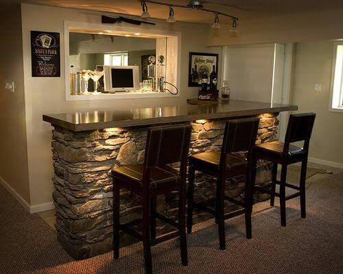 13 man cave bar ideas pictures - Mini bar in house ...